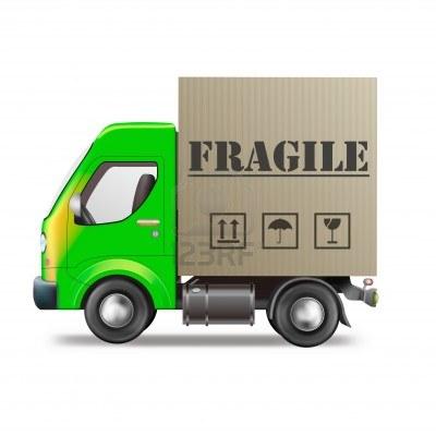 transport marfa obiecte fragile